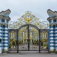 Ворота Екатерининского дворца :: Лариса Лунёва