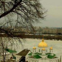 Вид с откоса на Благовещенский монастырь :: Наталья Сазонова