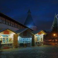 На территории Новоспасского монастыря :: Alex