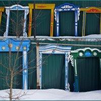 Выставка наличников в Корочарово - район Мурома :: Natalia Mihailova