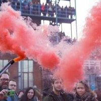 На фестивале цветного дыма :: Оксана Пучкова