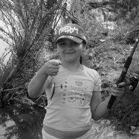 Первая рыбка-моя! :: Ирина Атаманская