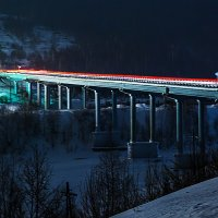 Мост через реку Косьва :: Вячеслав Ложкин