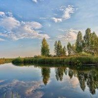 Вечер на реке :: Александр К.