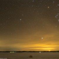 Звёздное небо над Пермским краем :: Алексей Сычёв