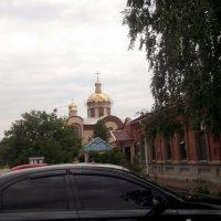 Вид на храм в г. Приморске :: Svetlana Lyaxovich