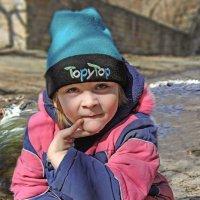 У ручья на солнышке... :: Александр Мартынов