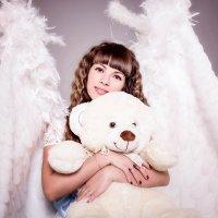 Ангел с мишкой :: Екатерина Волк