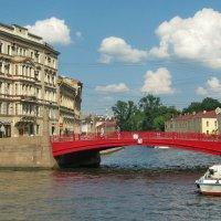 Красный мост :: Олег Попков
