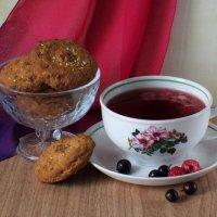 Ягодный чай :: Татьяна Смоляниченко