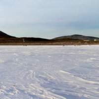 Зимнее озеро. :: Сергей Фельдман