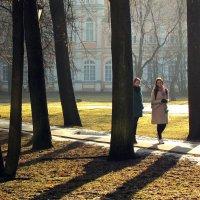 В Александро-Невской Лавре :: Ирина Румянцева