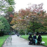 Обычный день студентов в Люксембургском саду. :: Фотограф в Париже, Франции Наталья Ильина