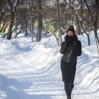 Девушка в парке :: ura