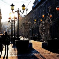 пешеходная улица :: александр