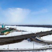 новый мост через Обь в Барнауле :: Николай Мальцев