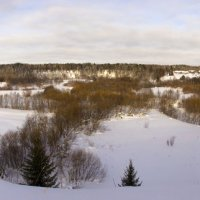 Зимняя панорама :: Иван Клещин