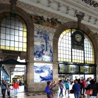 Холл вокзала Сан-Бенту в Порту. :: ИРЭН@ Комарова