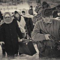 Сопровождение беженцев :: Дмитрий Головин