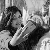 Селфи незнакомки :: Евгений Герасименко