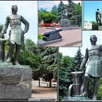 Азов. Памятник Петру I :: Нина Бутко