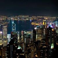 Вид Гонконга с пика Виктория :: Сергей Па