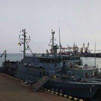 В порт Одессы прибыли корабли группы НАТО :: Александр Корчемный
