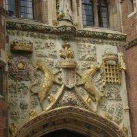 Кэмбридж. Колледж Святого Иоанна. Главные ворота :: Марина Домосилецкая