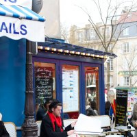 Художник на Монмартре :: Фотограф в Париже, Франции Наталья Ильина