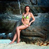Анюта и каменный трон :: Alex Lipchansky