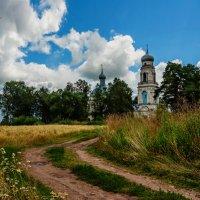 Храм Богоявления Господня в деревне Глебово. :: Дмитрий Постников