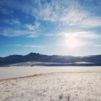 Солнце над озером Нур :: Анатолий Иргл