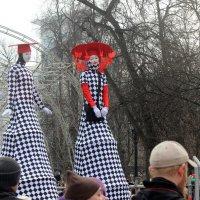 Красавицы на  ходулях! :: Виталий Селиванов