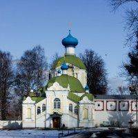 Церковь Иконы Божией Матери Тихвинская :: Сергей Кочнев