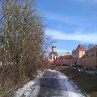 Весна в Александра-Невской Лавре. :: Светлана Калмыкова