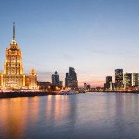 Закат на Москве-реке :: Олег Пученков