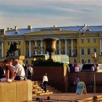 На Адмиралтейской набережной... :: Sergey Gordoff