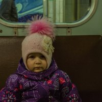 Поездка в метро вызвала неоднозначные чувства... :: Павел Кореньков