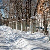 Старый Комсомольск. Запахло весной. :: Сергей Щелкунов