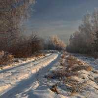 Снова по дороге мне идти вперёд... :: Александр Попов