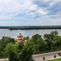 Н.Новгород. Волга. :: Владимир Безбородов