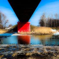 Под мостом................ :: Александр Селезнев
