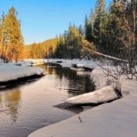 весенний лёд :: Александр