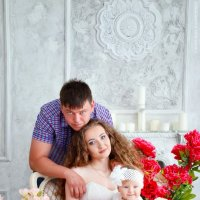 Егор, Анастасия и София :: Марина Киреева