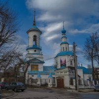 Троицкая церковь,1740г. :: Сергей Цветков