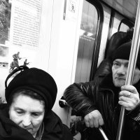 Взгляды подземки :: Светлана Шмелева