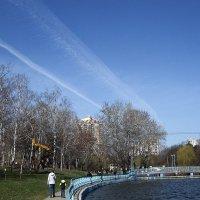 Небо рисовало маршруты :: Людмила