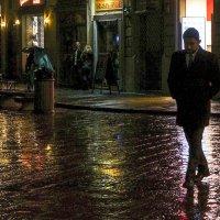 Дождливый вечер во Флоренции :: Людмила Синицына