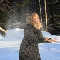 Этот чистый невесомый снег... :: Ирина Королева