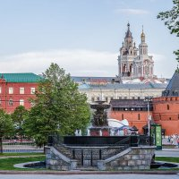 Москва. Водоразборный фонтан на площади Революции. :: В и т а л и й .... Л а б з о'в